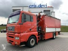 Camion savoyarde occasion MAN 18.350 LL 4x2 Hiab 166 E-5 XS Hipro | Euro 3