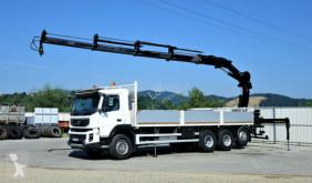 Camión Volvo FMX 410 Pritsche 8,00 m+ Kran/FUNK*8x4* caja abierta usado