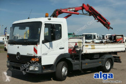 Kamyon Mercedes Atego 815 K Atego 4x2, Kran Hiab 052-2, Kugel-AHK damper üç yönlü damperli kamyon ikinci el araç