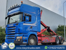 Camion polybenne occasion Scania R 500