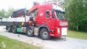 Camion Palfinger Volvo FM 480 8x2 Crane PK60002 plateau ridelles occasion