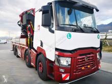 Renault dropside truck C460 Crane ER-172.000 A-9 (Volvo-Mercedes)