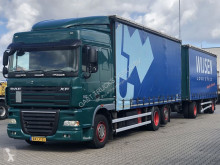 DAF XF 410 trailer truck used tautliner