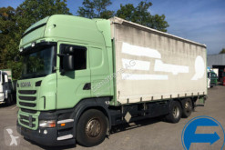 Camion cassone centinato usato Scania R 440