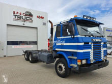Camión chasis usado Scania R143 H 400, 6x4, Full Steel, Big axles, V8 engine