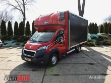 Kamyon Peugeot BOXER tenteli platform ikinci el araç