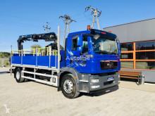 Camion plateau MAN TGM 18.250 E5 TGS , TGL , TGX , TGA , dzwig HMF 1420 K2 + radio
