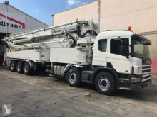 Scania L 124L420 truck used concrete pump truck