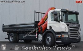 Scania P 280 truck used tipper