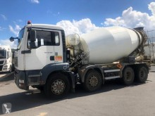 MAN TGA 32.360 truck used concrete mixer + pump truck concrete