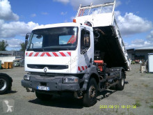 Renault three-way side tipper truck Kerax 320 DCI
