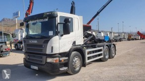 Camion polybenne Scania P 380 LB