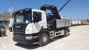 Camión caja abierta teleros Scania P 230