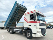 Camion benne céréalière occasion DAF XF105.460/3-Seiten GETREIDEKIPPER/ NEUE KUPPLUNG