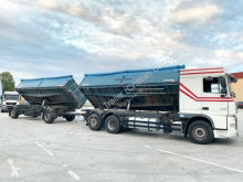 DAF three-way side tipper trailer truck XF105 XF105.460/3-S GETREIDEKIPPER+HÄNGER/KUPPLUNG NEU
