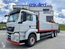 Camião estrado / caixa aberta caixa aberta MAN TGS 26.480 6x4 BL Palfinger PK 20002