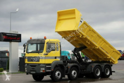 Camion MAN TGA 35.350 /8X4/2 SIDED TIPPER/MANUAL/BORTMATIC benne occasion