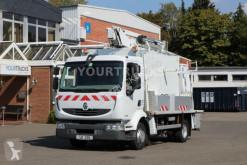 Ciężarówka Renault Midlum 220 E5 /Bühne 17m/Korb 265kg/Werk.Koffer zwyżka używana