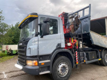 Scania P 380 truck used half-pipe tipper