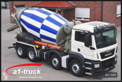 Used concrete mixer truck MAN TGS 32.360 BB 8x4 Stetter 9m³, TOP!!