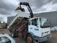 Used two-way side tipper truck Renault Midliner 180
