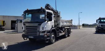 Kamyon damper çift yönlü damperli kamyon ikinci el araç Scania P 114P380