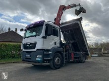 MAN TGS 18.320 truck used two-way side tipper