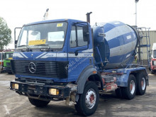 Used concrete mixer truck Mercedes 2527 Mixer Liebherr V6 Full Spring Good Condition
