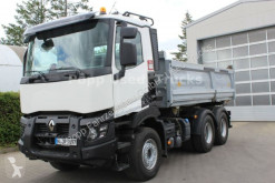 Camion tri-benne occasion Renault C520 6x4 Meiler DSK*Bordmatik,