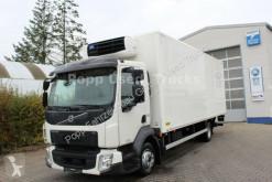 Gebrauchter LKW Kühlkoffer Volvo FL 210 Kühlkoffer*Carrier Xarios 600, LBW*