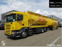 Lastbil tank livsmedel Scania R R 380 LB6x2*SILO /31m3 /6 Kammern /mit Anhänger