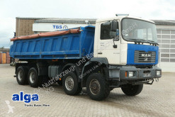 MAN three-way side tipper truck FE 410/32.410/8x6/Meiller/Plane/A