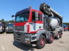 Camion béton toupie / Malaxeur occasion MAN TGA 35.400 8x4 STETTER 9 m3 THEAM 14M+4M