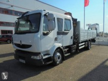 Camion Renault Midlum CABINA DOBLE plateau occasion