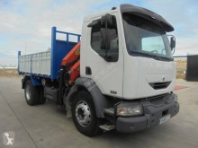 Camion plateau occasion Renault Midlum 270.18 DCI