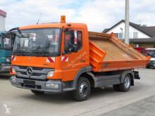 Camión volquete volquete trilateral usado Mercedes Atego Meiller