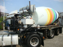 Nc MULDER MIXER 15M3 semi-trailer used concrete mixer concrete