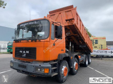 Camion MAN 32.342 Full steel - Manual - Mech p - Meiller benne occasion