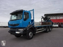 Camion plateau standard occasion Renault Kerax 430 DXI