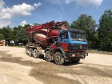Mercedes SK 3538 truck used concrete mixer + pump truck concrete