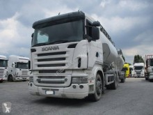 Scania R 500 LB trailer truck used bulk cement tanker