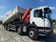Scania three-way side tipper truck P 380