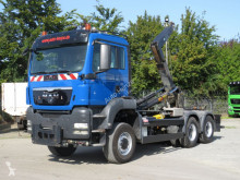 Camion polybenne occasion MAN TGS TG-S Schub Knickarm