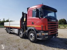 Camion Scania G 124G420 plateau ridelles occasion