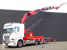 Scania R 520 truck used flatbed