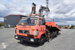 Used tow truck MAN 8.150 L / Ladekran / Schiebeplateau / Brille