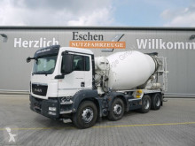 Camion béton toupie / Malaxeur occasion MAN TGS 35.400 8x4 BB, Liebherr 9m³,Federpaket Blatt