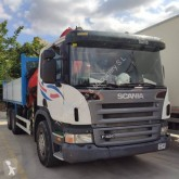 Camion plateau ridelles occasion Scania P 420
