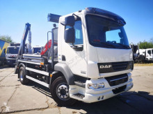 Camion DAF FA bramowiec, skip loader truck EURO V EEV multibenne occasion