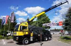 MAN 26.440 6x2 FASSI 210 KRAN Cran truck used flatbed